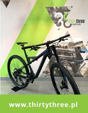 Rowery Cannondale i GT w Thirty Three Bicycle Studio Wrocław